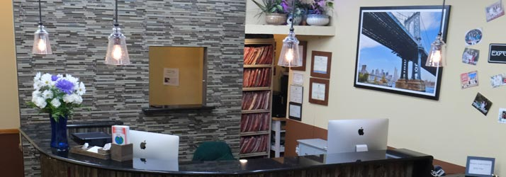 Chiropractic Brooklyn NY Receptionist Desk